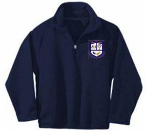 UNISEX FLEECE JACKET W/ LOGO - MONTESSORI