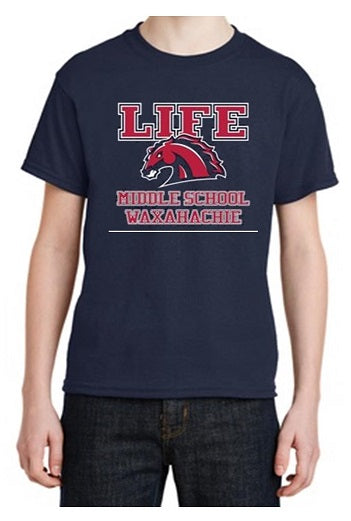 YOUTH FRIDAY SHIRT - LIFE WAXAHACHIE MIDDLE SCHOOL