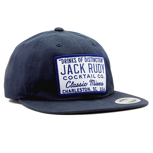 Jack Rudy Navy Blue Dad Cap