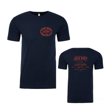 Jack Rudy Navy Patch T-Shirt
