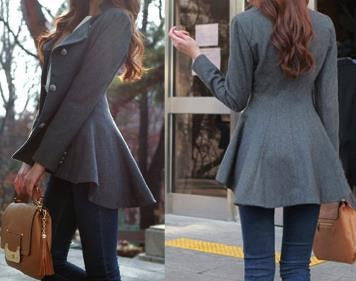 Peplum Fall Jacket