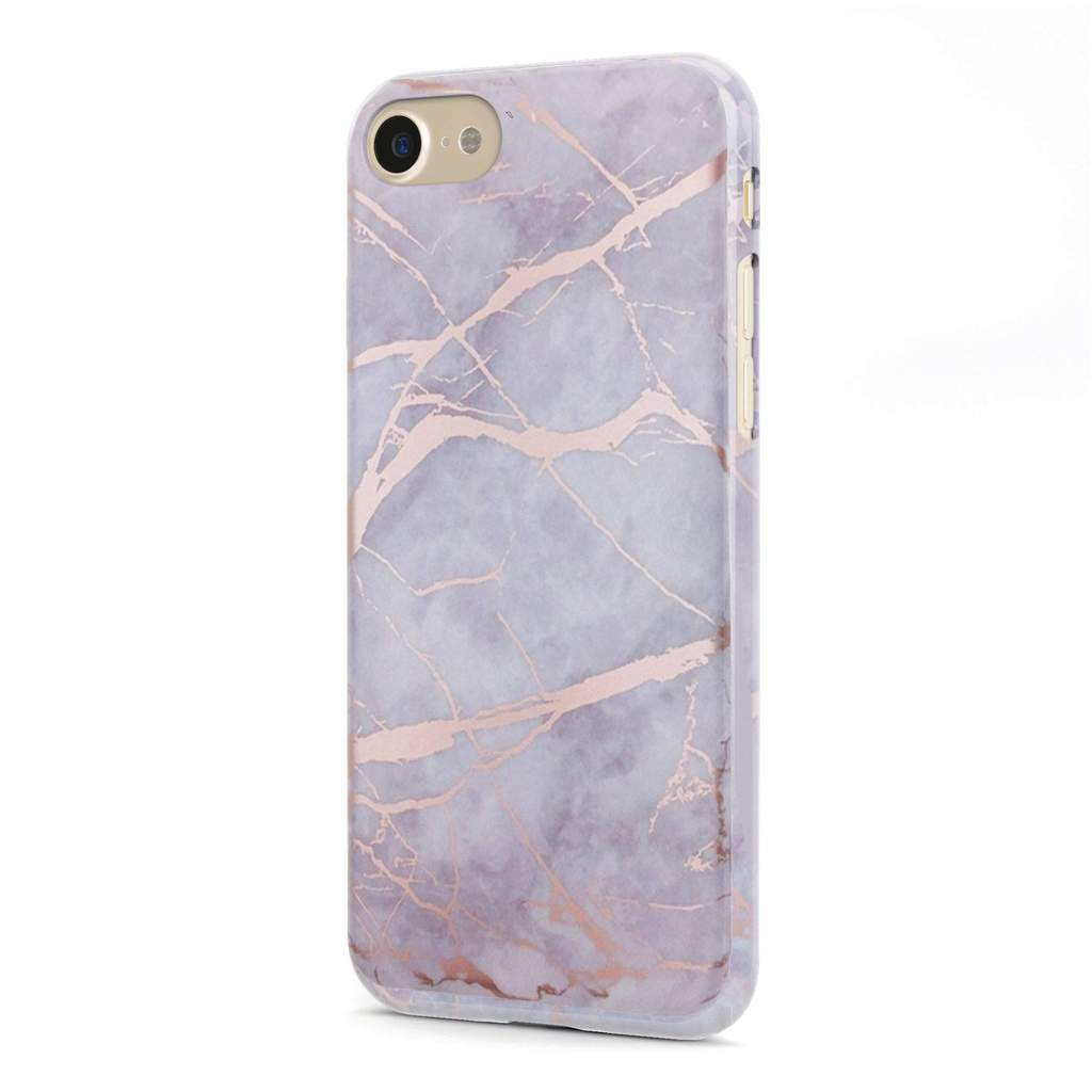 White Rose  Marble Case