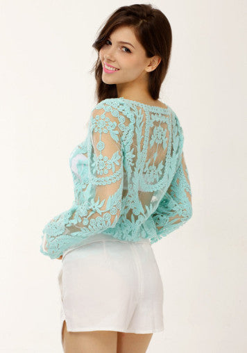 Crotchet Glam Top