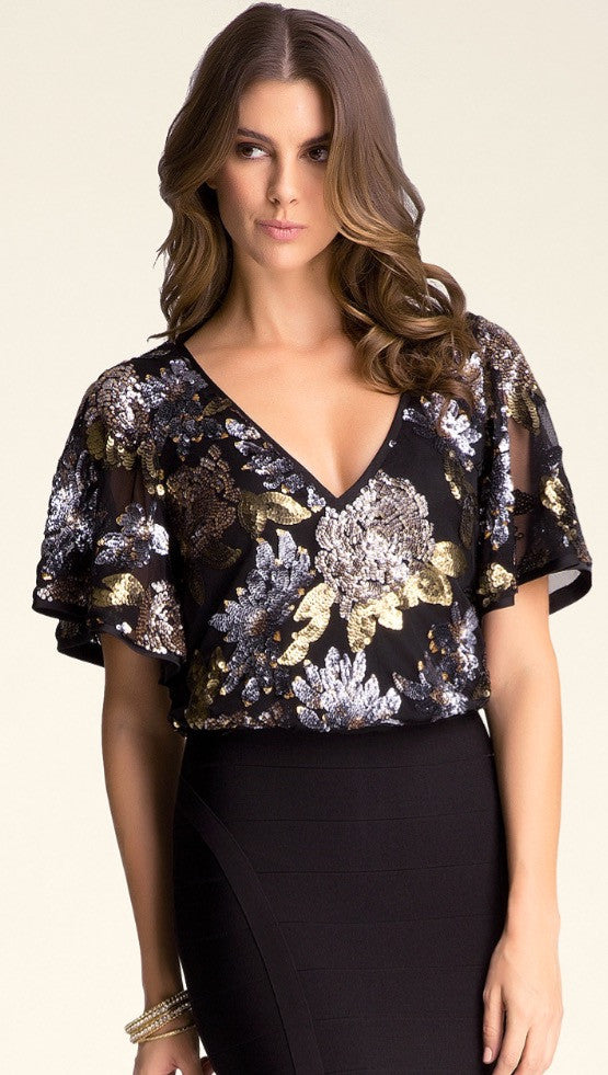 Butterfly Glam Top