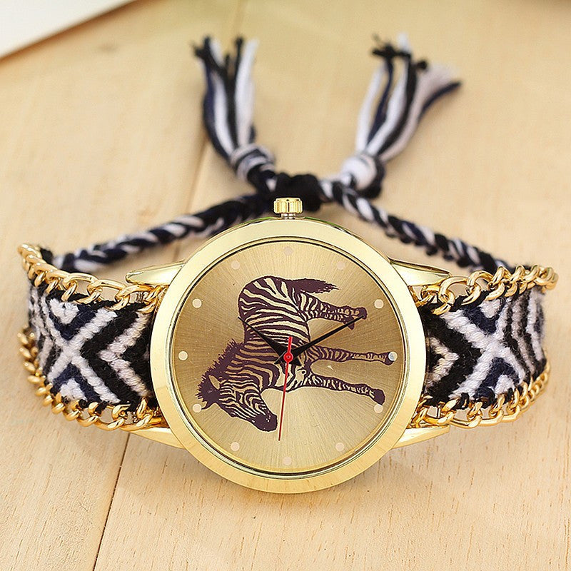 Zebra Friendship Watch