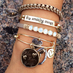 LIVE LOVE LAUGH Charm Bracelet