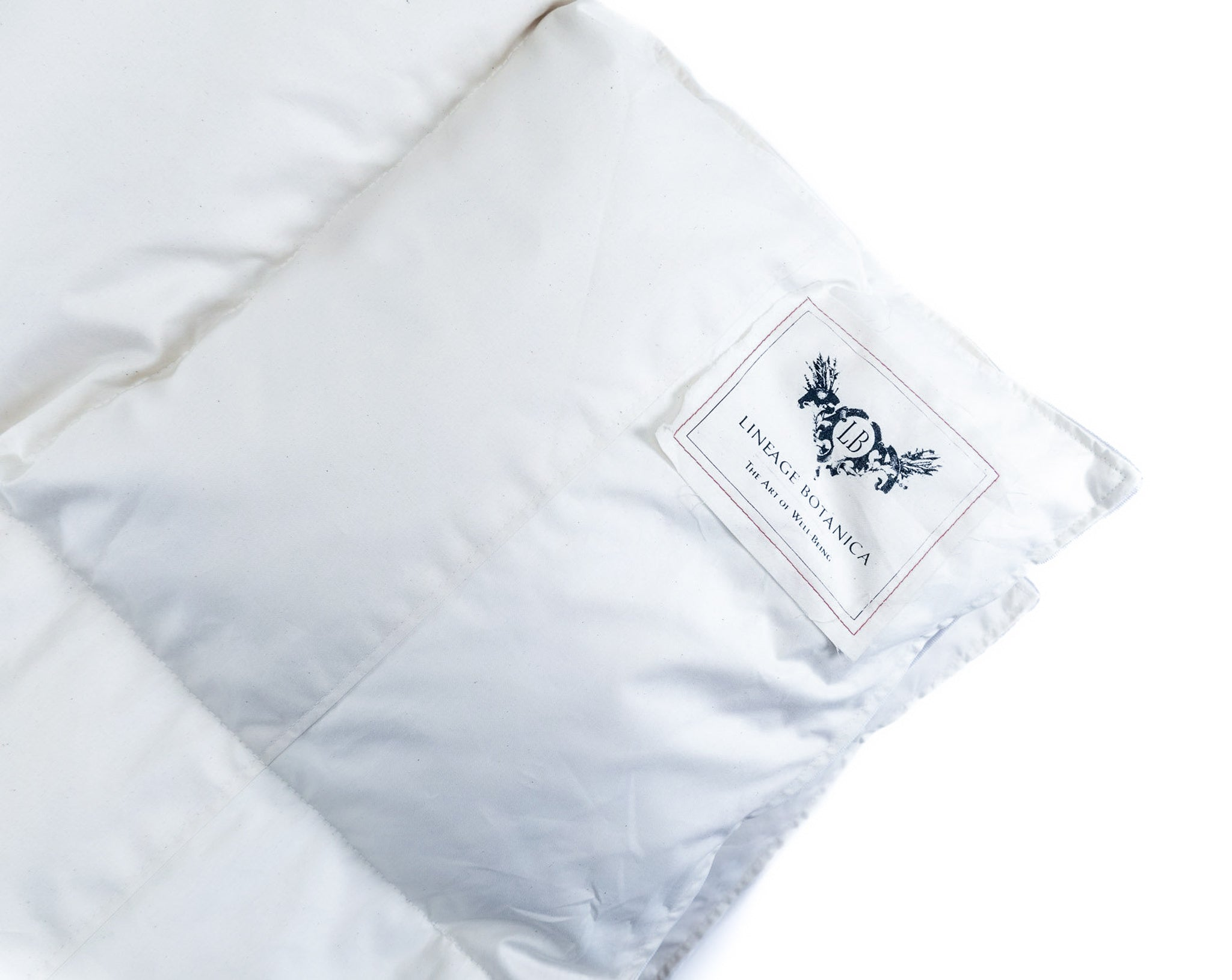 Down Duvet: Three season, organic cotton shell, recycled 100% Hungarian goose down - Queen DD-F