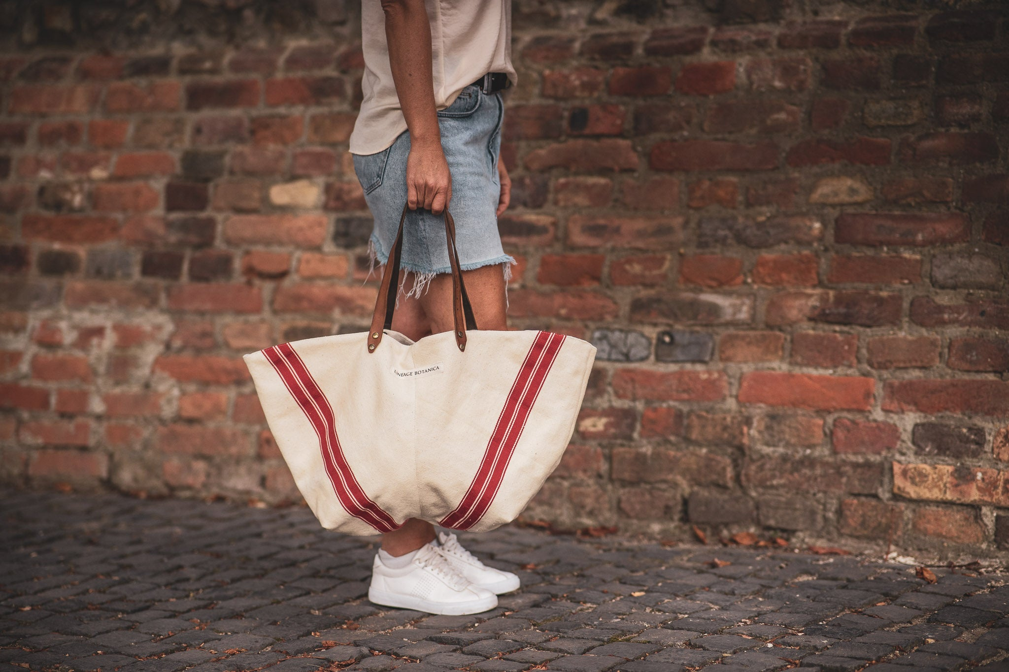 Bag: Handwoven antique Hungarian hemp - BG131