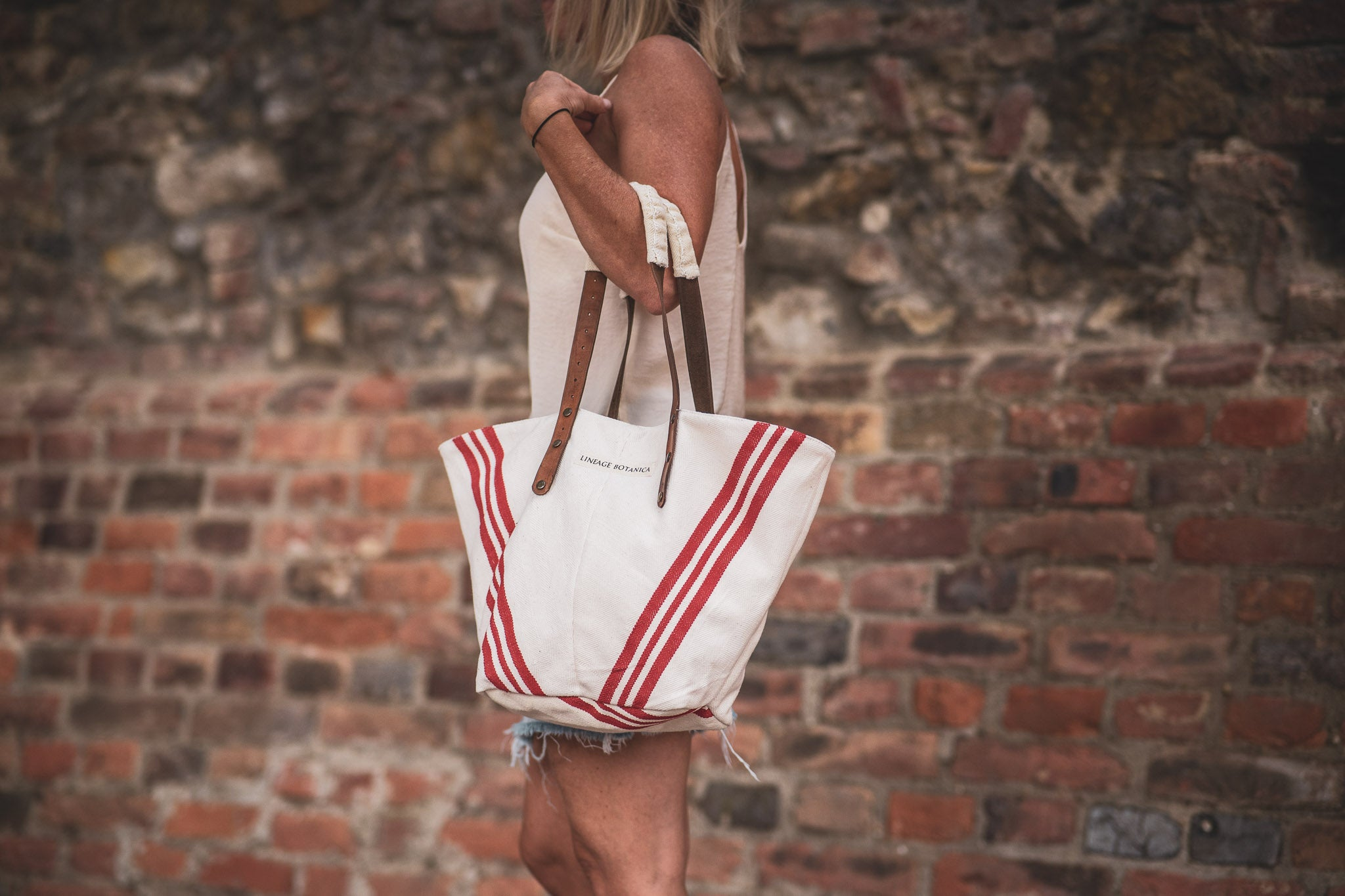 Bag: Handwoven antique Hungarian hemp - BG136