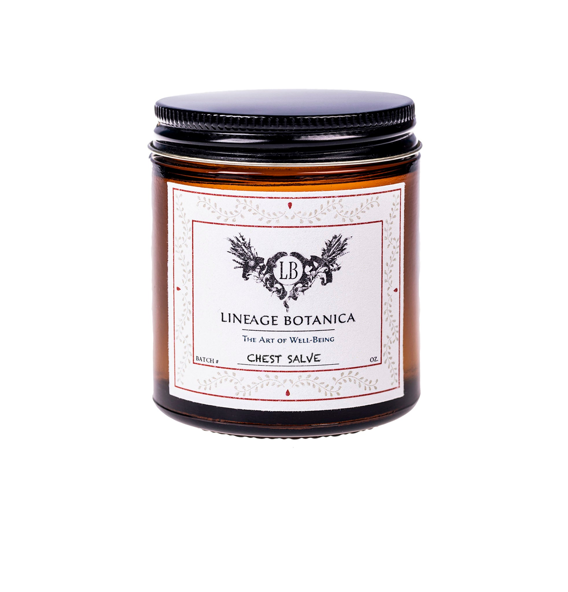 Chest Salve: Upper Respiratory Relief - Vegan - Organic A3020 - A3021
