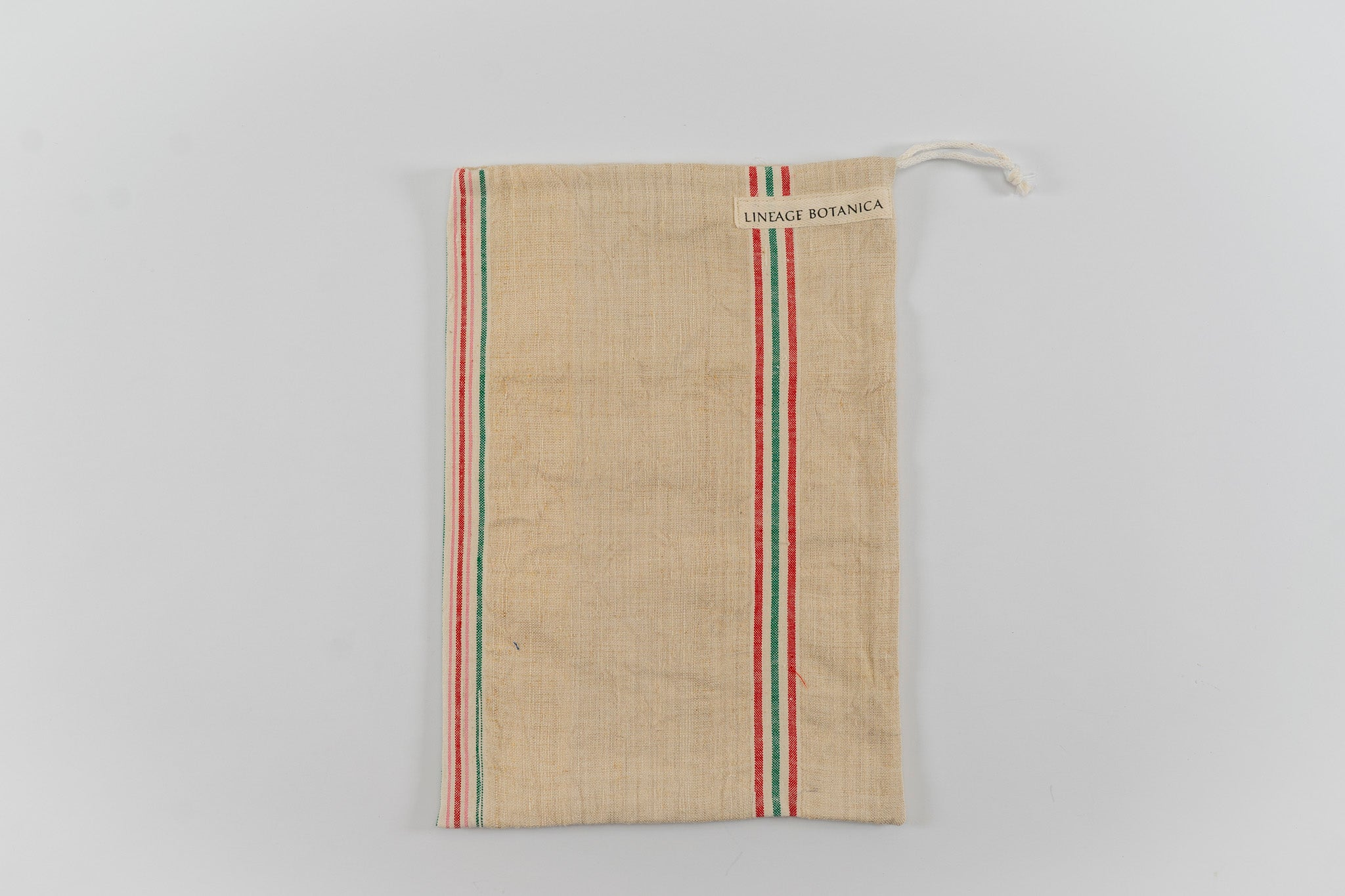 Bag: Handwoven antique and vintage hemp bread bags- BG154