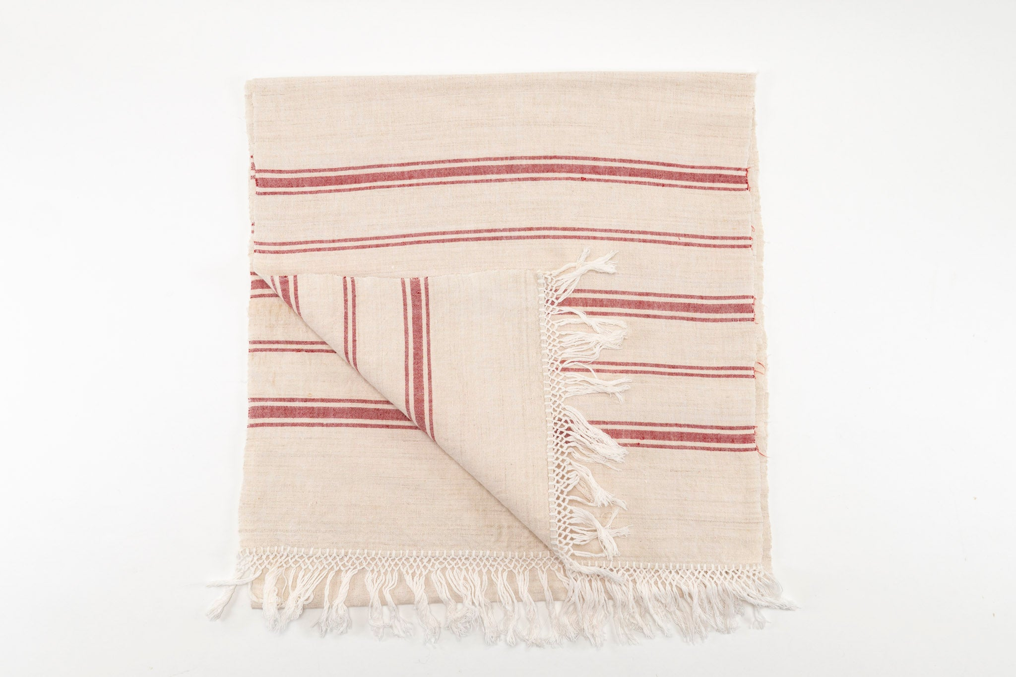 Table runner: Antique handwoven Hungarian hemp - TW11