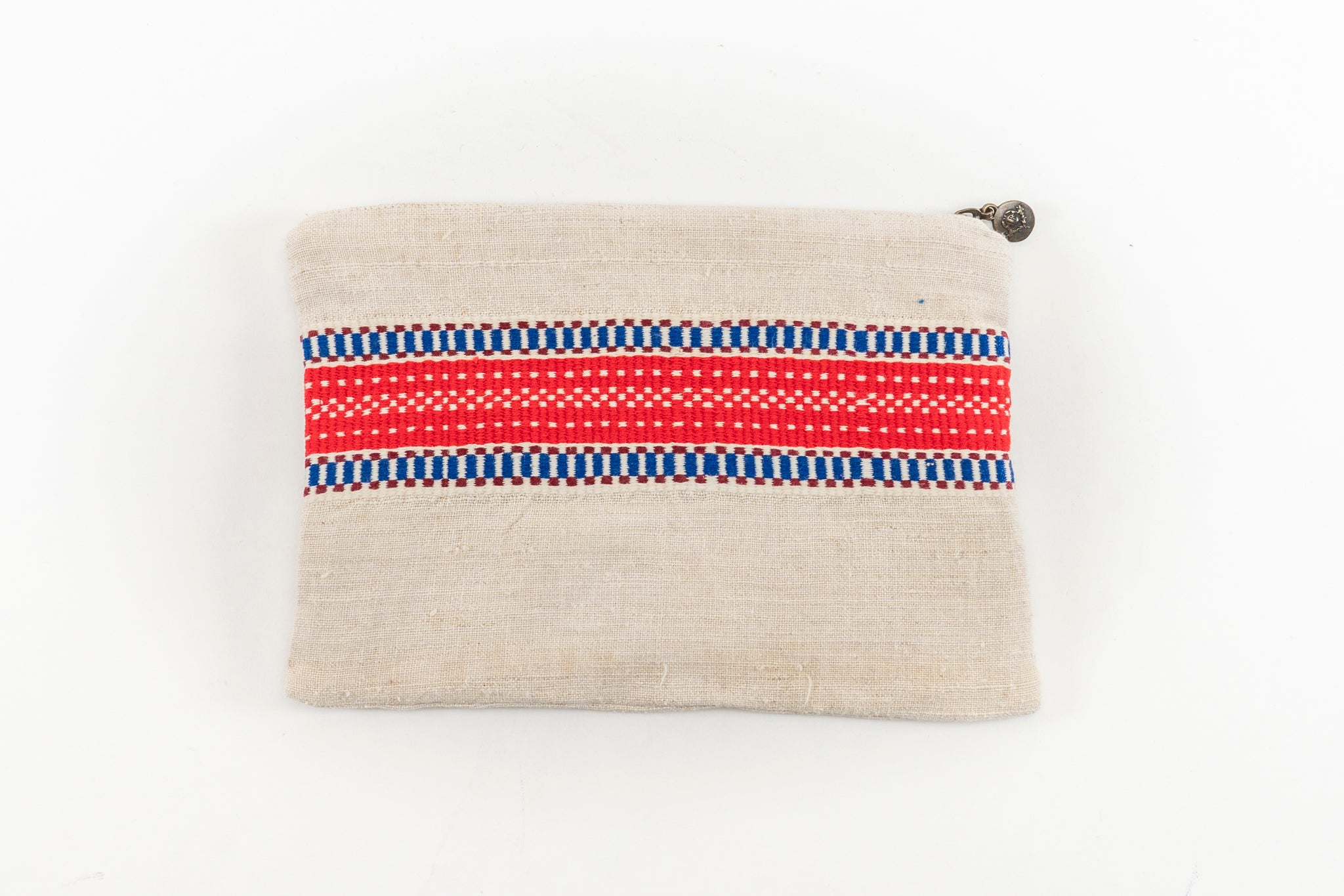 Bag: Handwoven antique and vintage hemp - BG55
