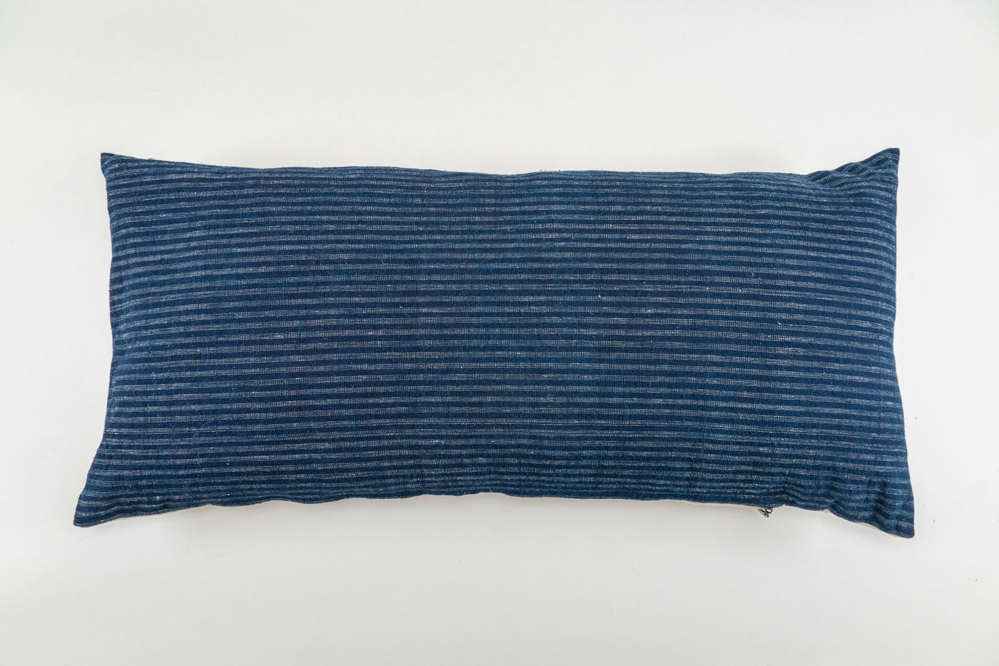 Pillow: Handwoven antique Bulgarian cotton and Hungarian hemp