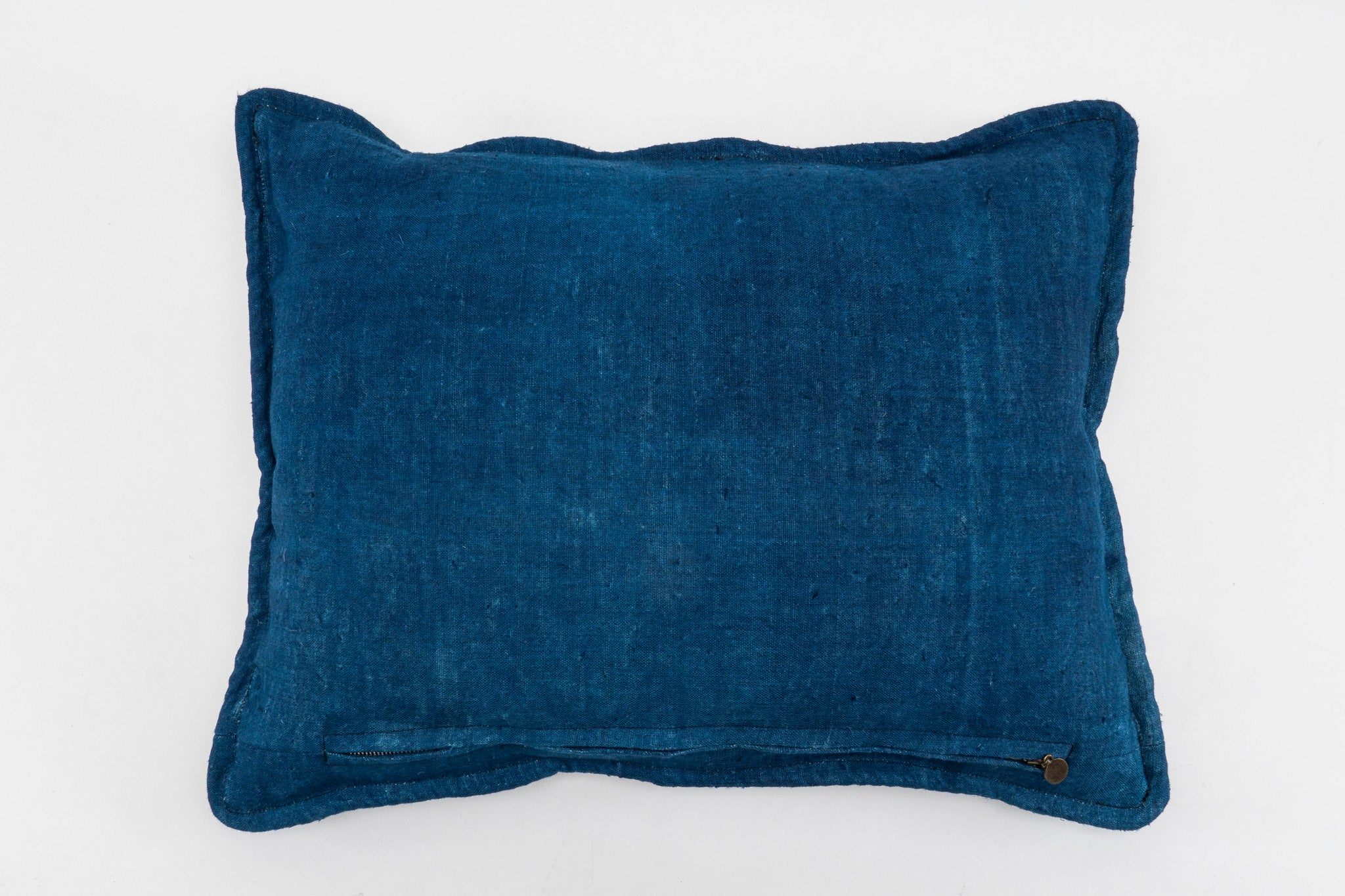 Pillow: Hand woven decorative pillow, antique Bulgarian cotton - P285