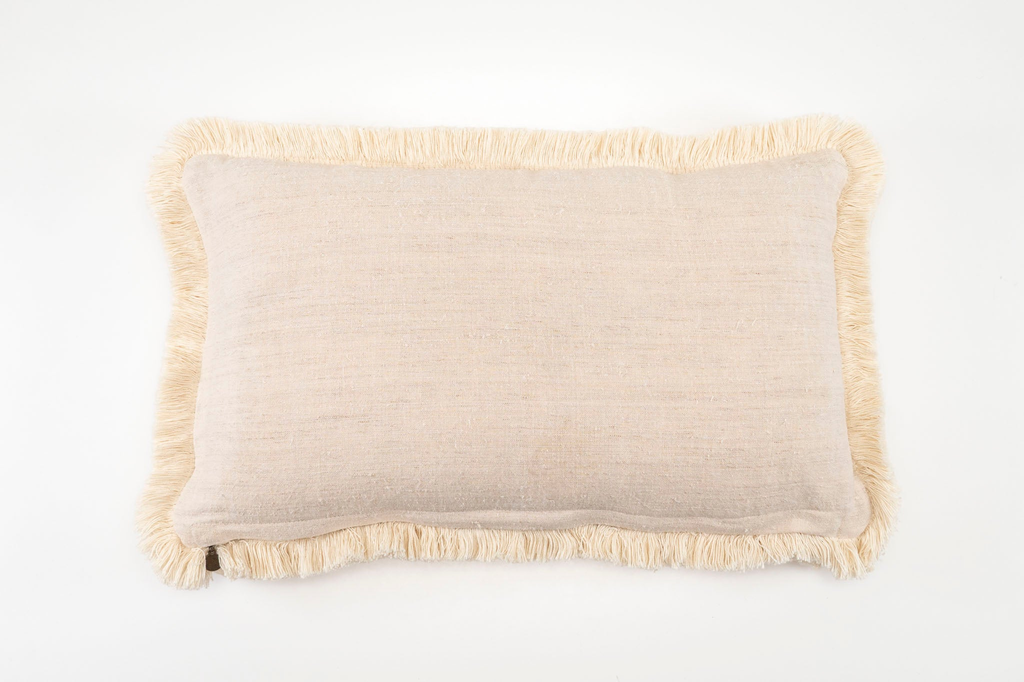 Pillow: Handwoven antique Hungarian hemp