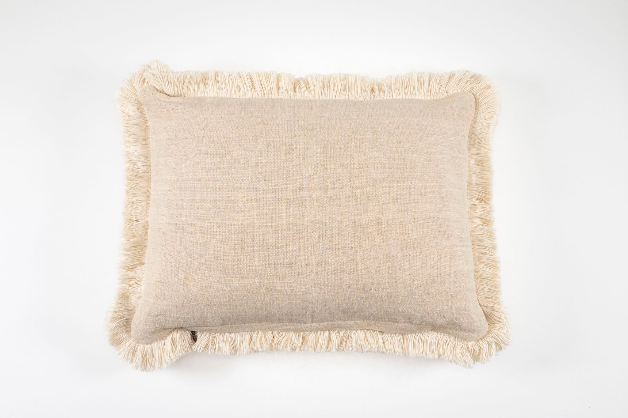 Pillow: Embroidered antique and vintage Hungarian hemp - P008