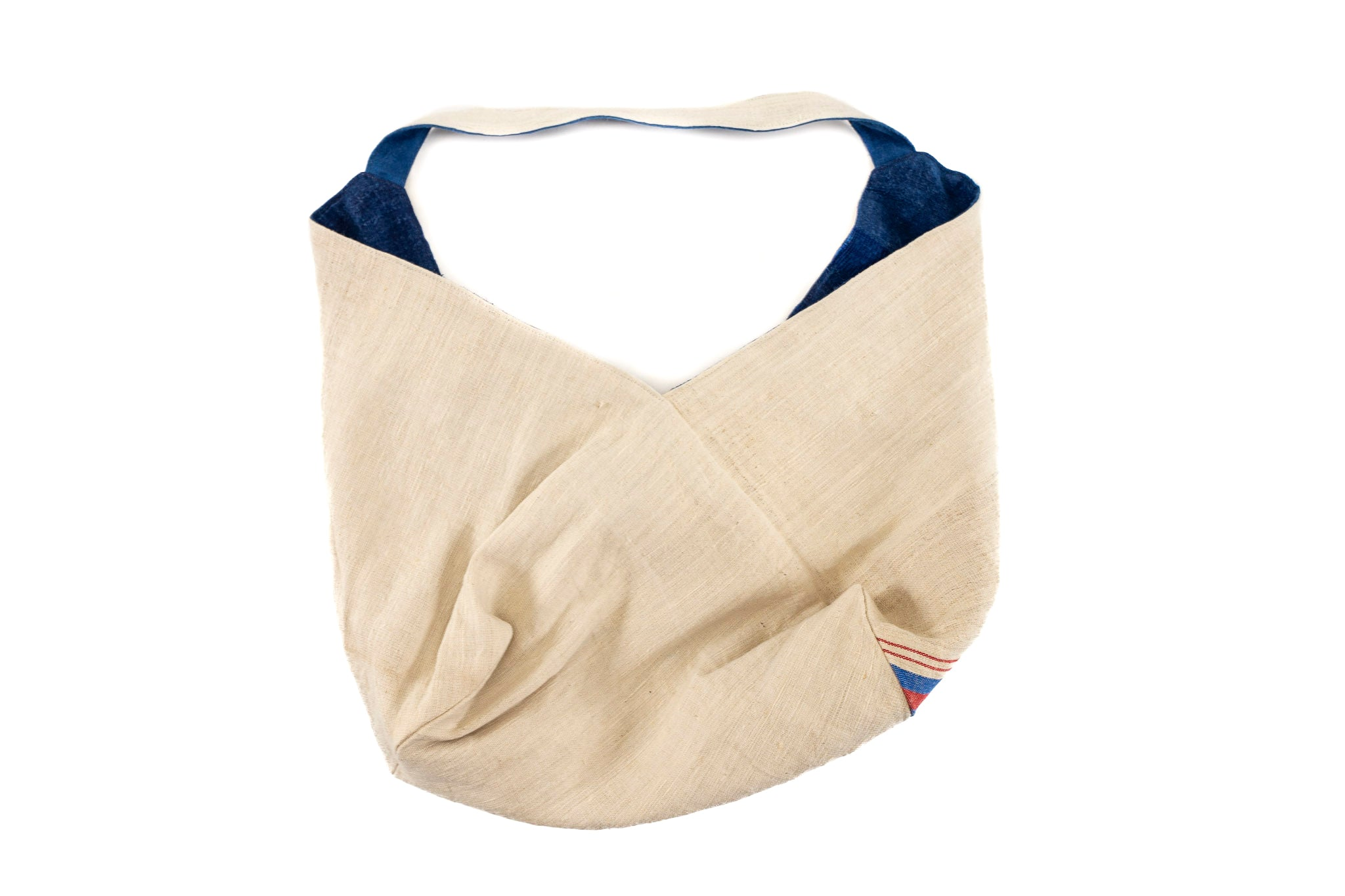 Bag: Handwoven antique Hungarian hemp