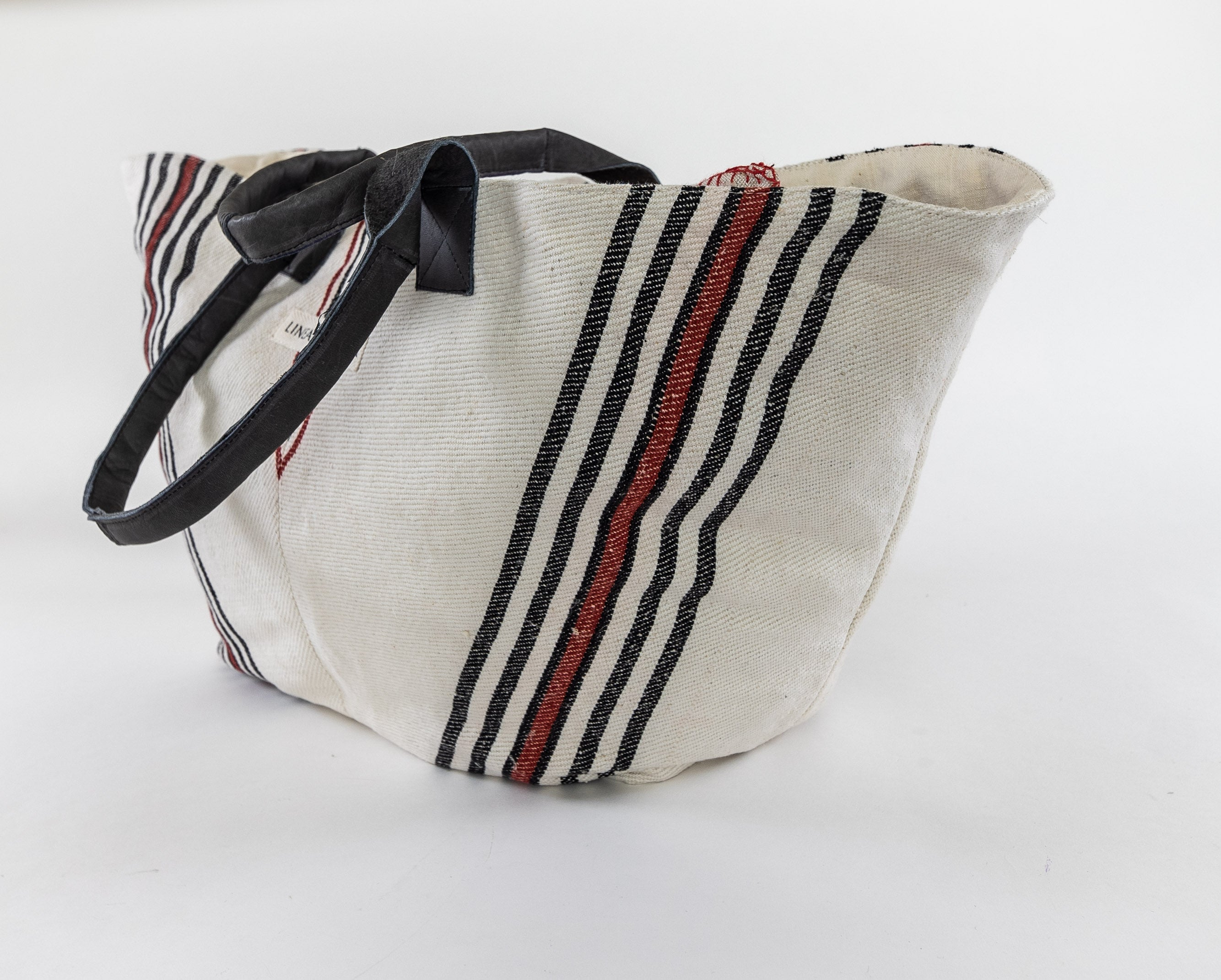 Bag: Handwoven antique Hungarian hemp - BG129