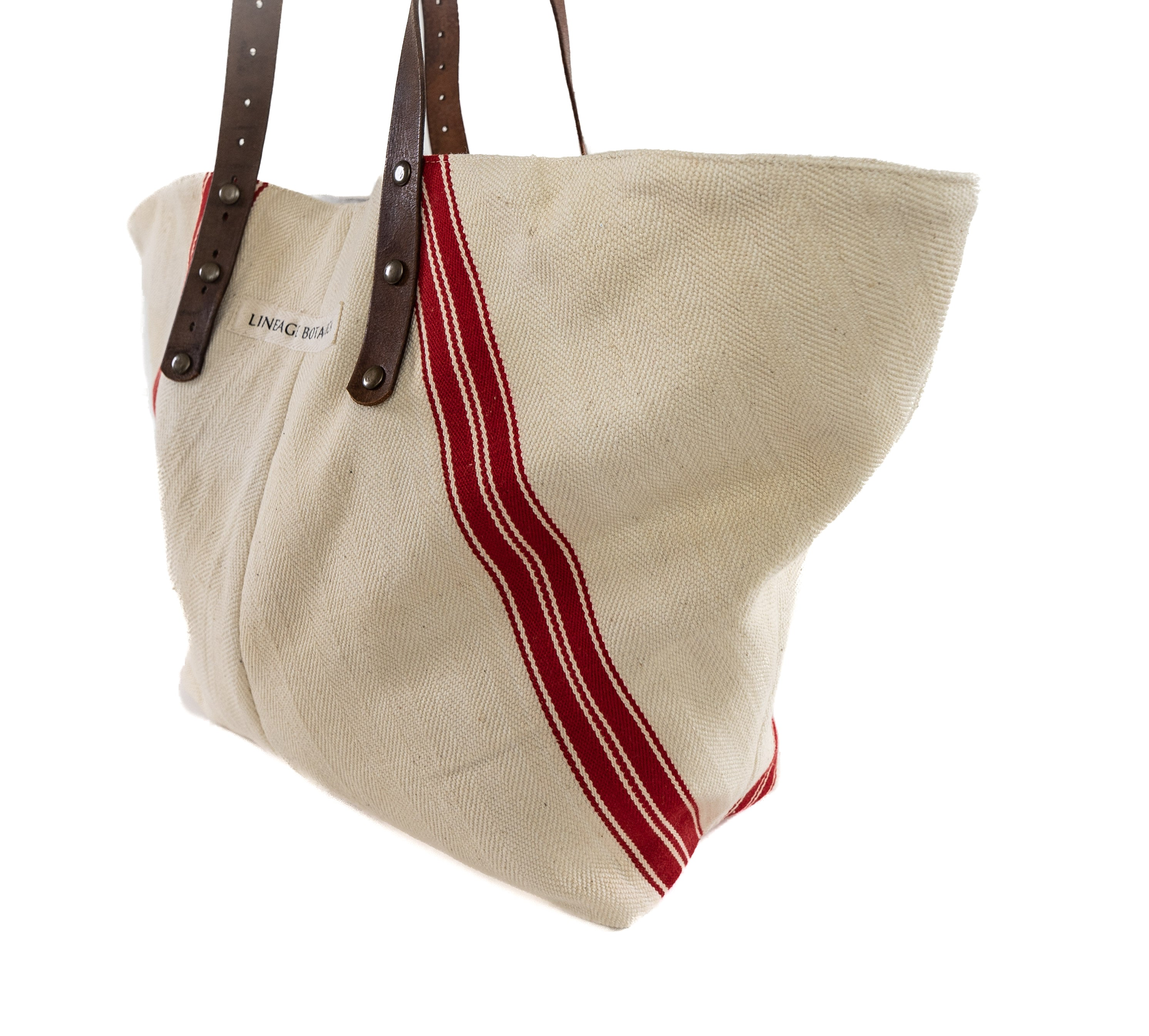 Bag: Handwoven antique Hungarian hemp - BG134