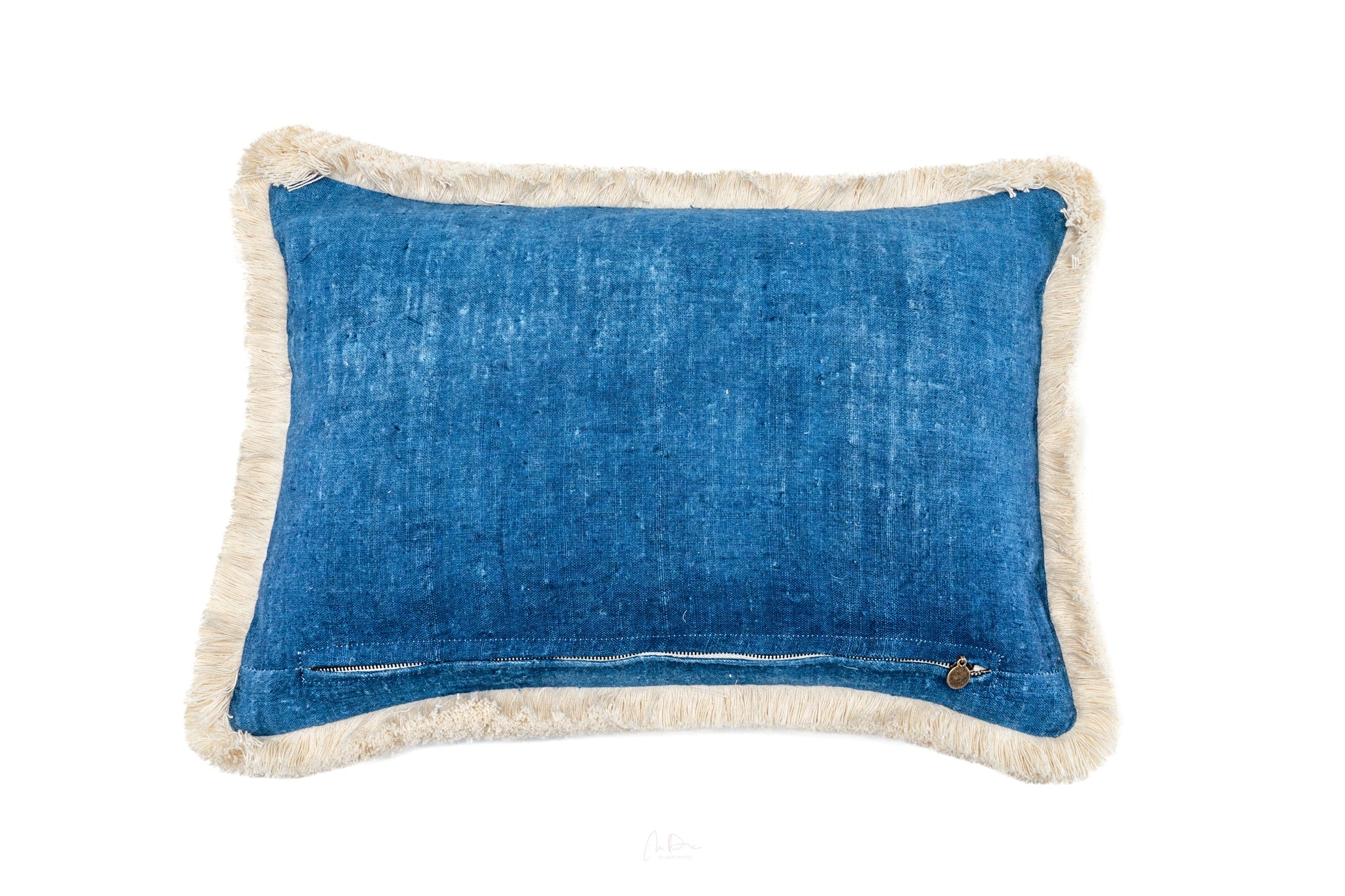 Pillow: Handwoven antique Bulgarian cotton