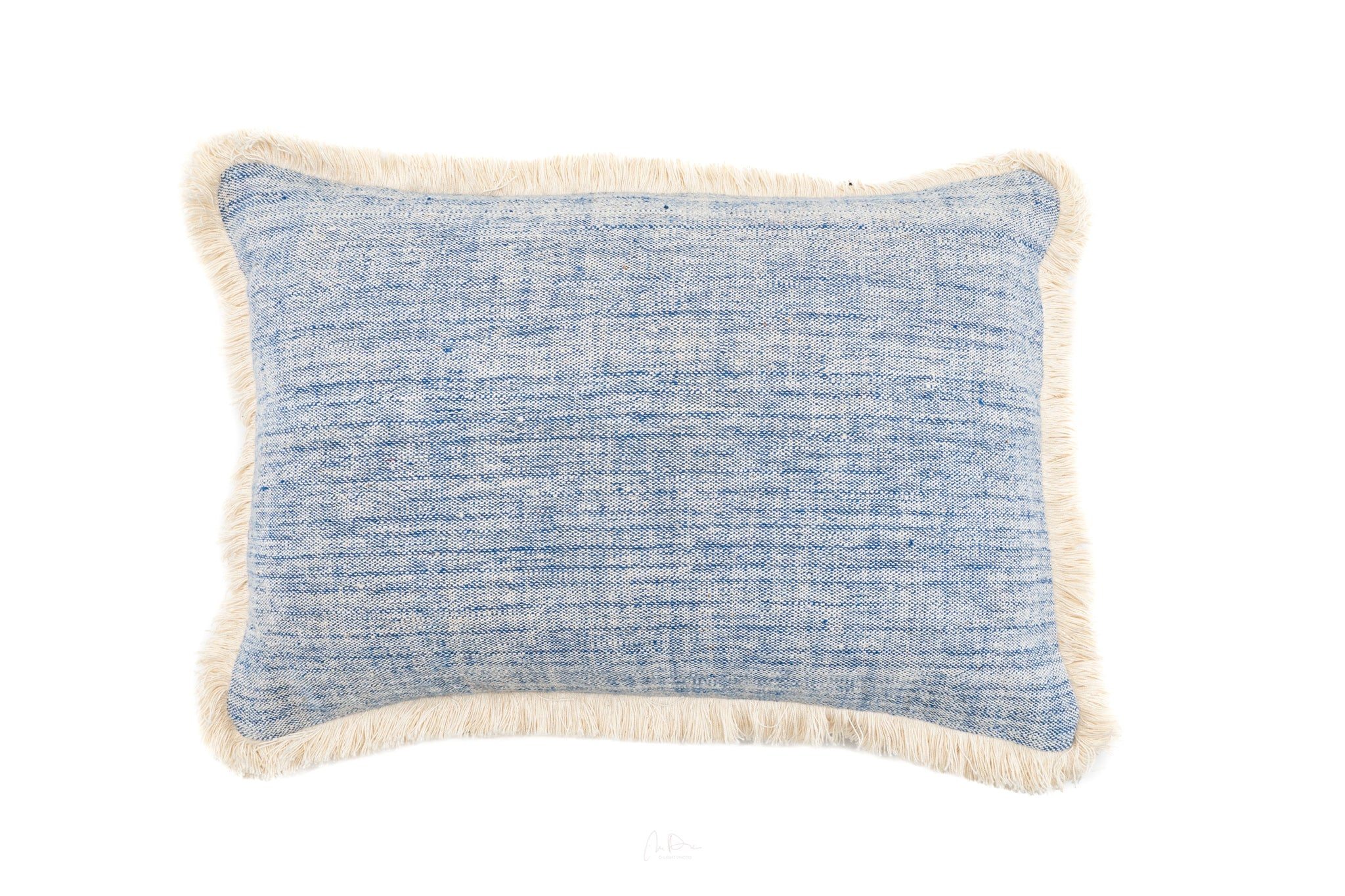 Pillow: Handwoven antique Bulgarian cotton - P233