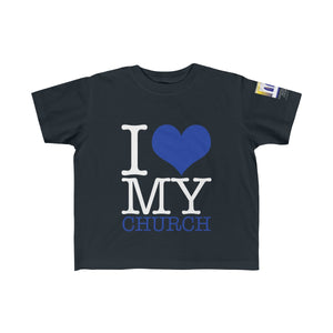 I Love My Church Kid's Fine Jersey Tee