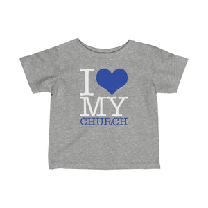 I Love My Church Infant Fine Jersey Tee