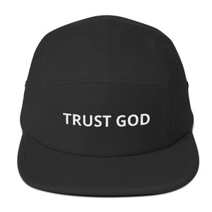 Trust God Five Panel Cap