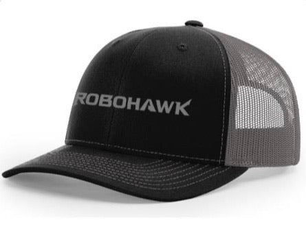 Trucker Hat - Black and Charcoal Gray