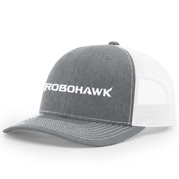 Trucker Hat - Heather Gray and White