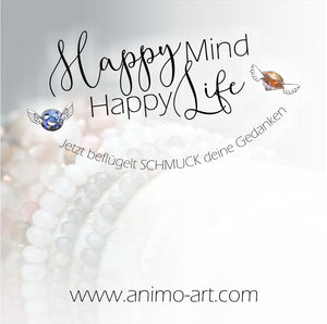 Happy Mind Happy Life - Schmuck