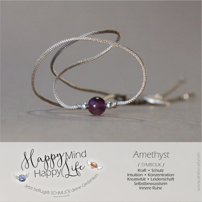 "Armband ""Amethyst"" mit Bedeutung"