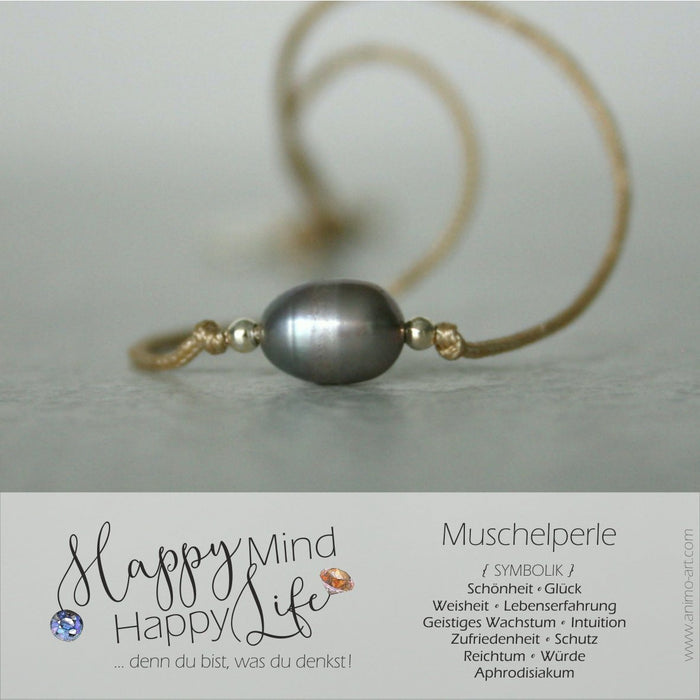 "Armband Damen ""mother of pearls"" Muschelperle / Silber"