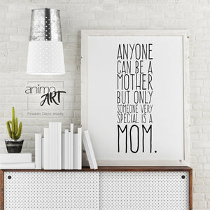 Special Mom - PRINTABLE - Digital Downloads_Printable_handmade_animoART