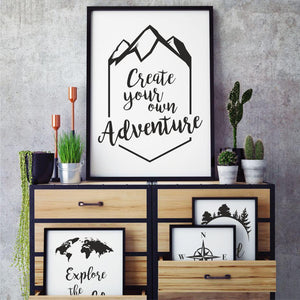 "PRINTABLE ""The mountains are calling..."" Digital Download_Printable_handmade_animoART"