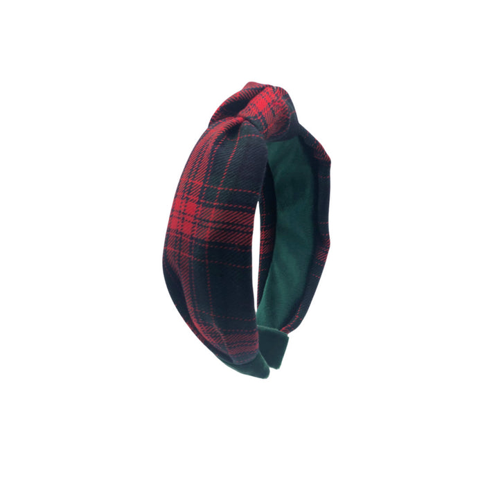 Bailey tartan plaid Italian wool