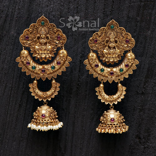 Sonal Fashion Jewellery Copper Gold Plated Nose Rings Without Piercing For Women & Girls (SFJ416)