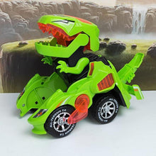 Load image into Gallery viewer, Transforming Dinosaur LED Car