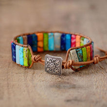 Load image into Gallery viewer, POSITIVE ENERGY HAND MADE CHAKRA BRACELET