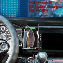 Load image into Gallery viewer, Automatic Clamping Wireless Car Mount Charger
