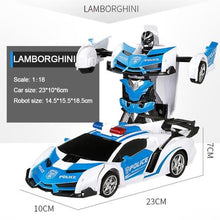 Load image into Gallery viewer, RC Car Transformation Robots