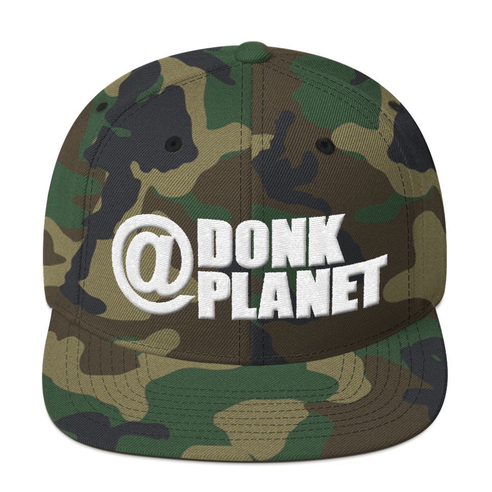 Donk Planet Snapback Hat