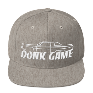 Donk Game Hardtop Snapback Hat