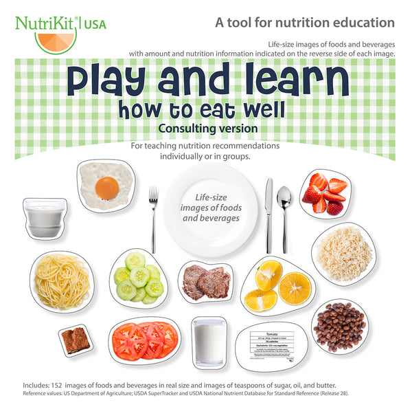 NutriKit Play and learn how to eat well -Consulting version–