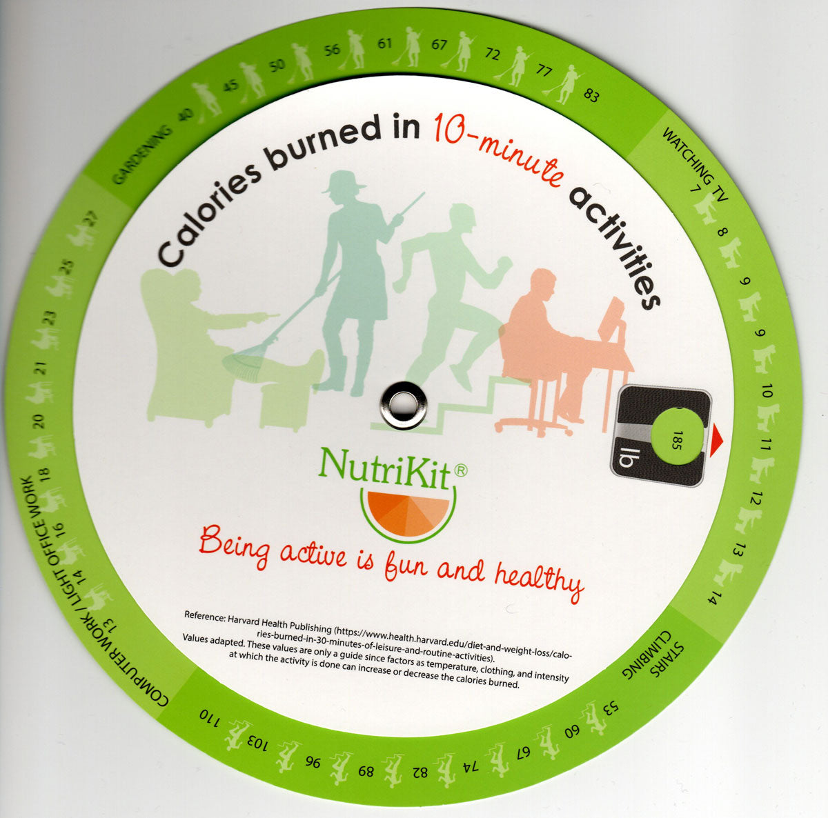 NutriKits Activity Wheel (pack of 5)