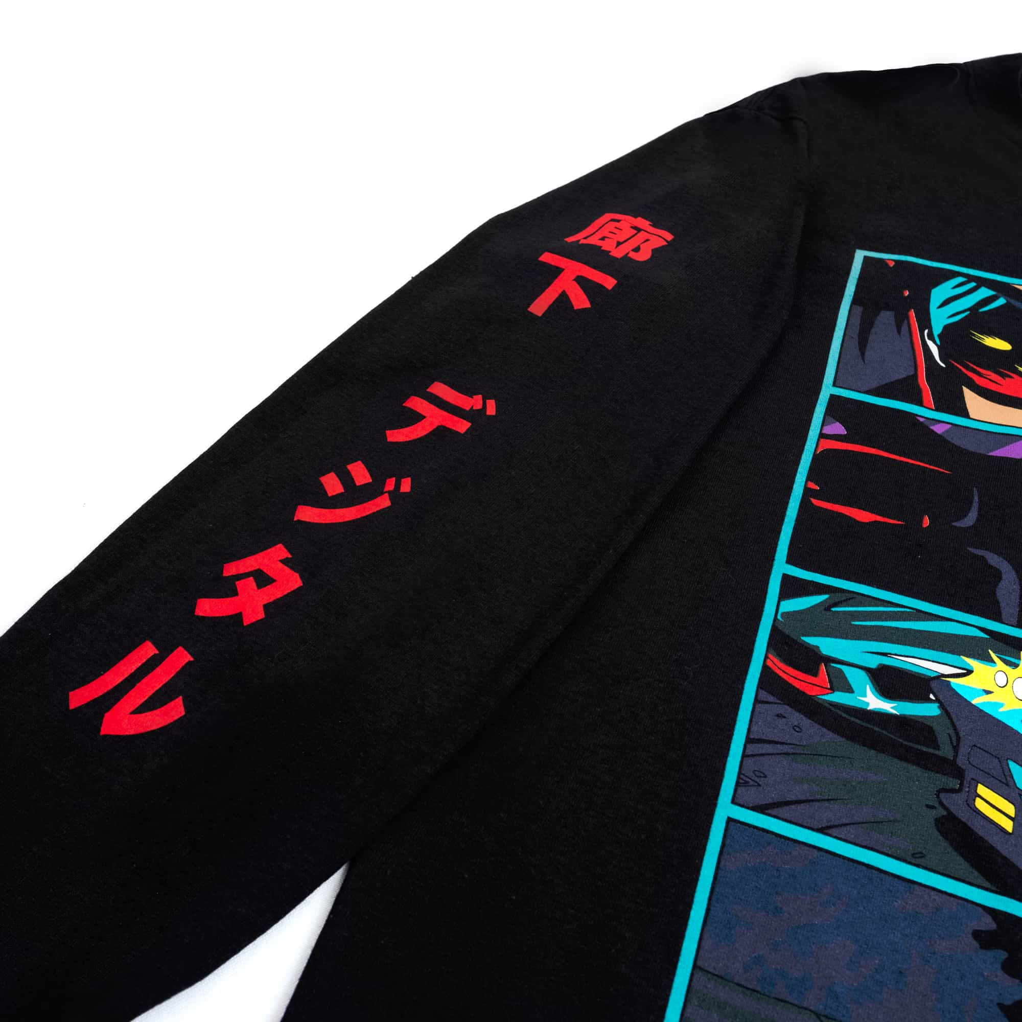 'Anime Self Driving Car' Long Sleeve - LIMITED EDITION
