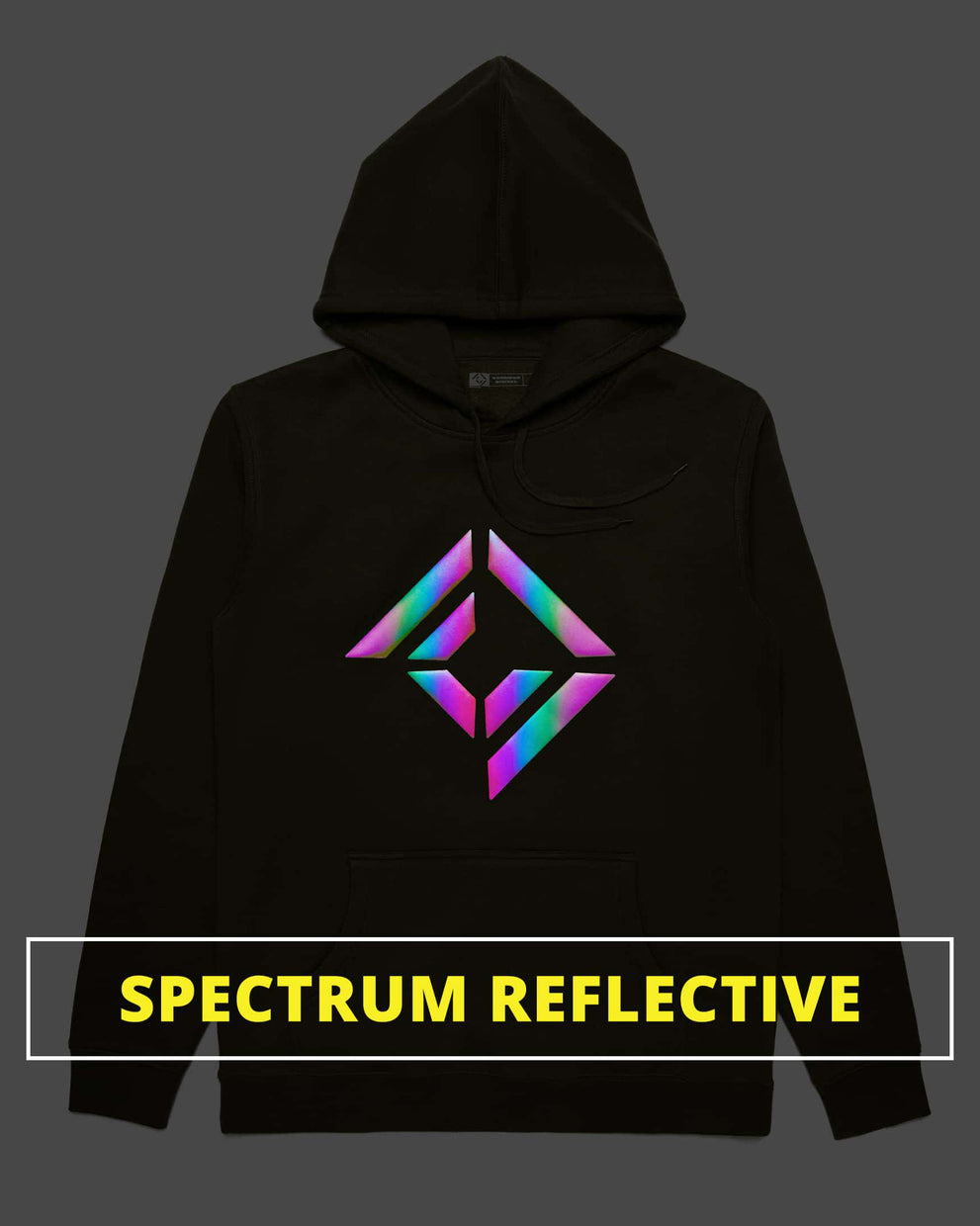 CD Spectrum Reflective Logo Hoodie - LIMITED EDITION