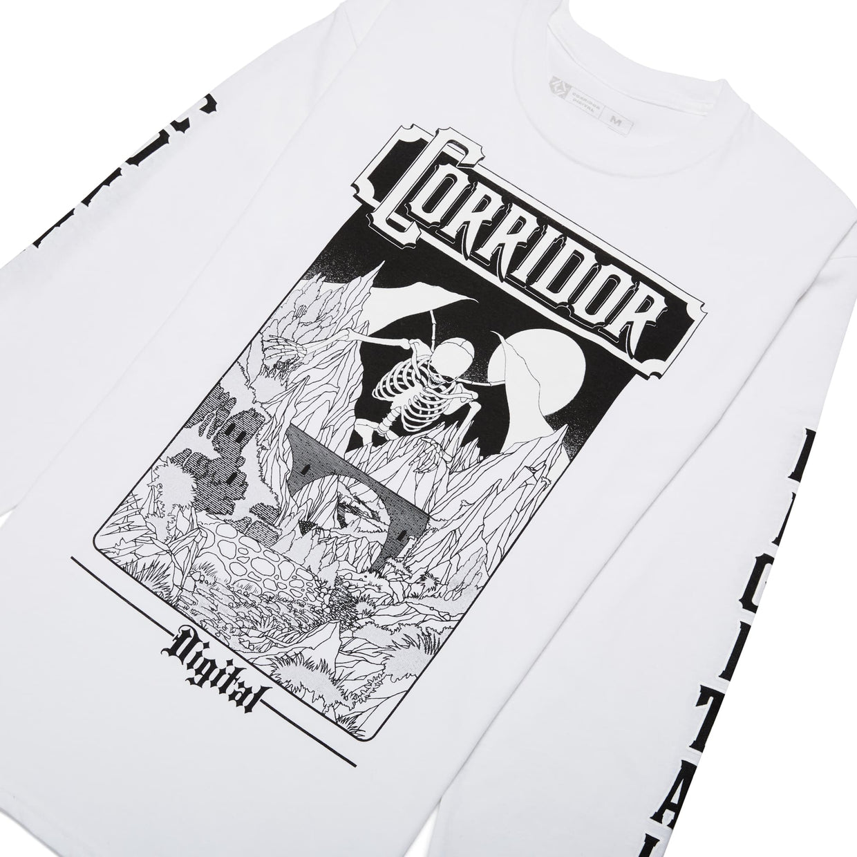 Corridor 'D&D' Reflective & Glow In The Dark Long Sleeve Tee - LIMITED EDITION