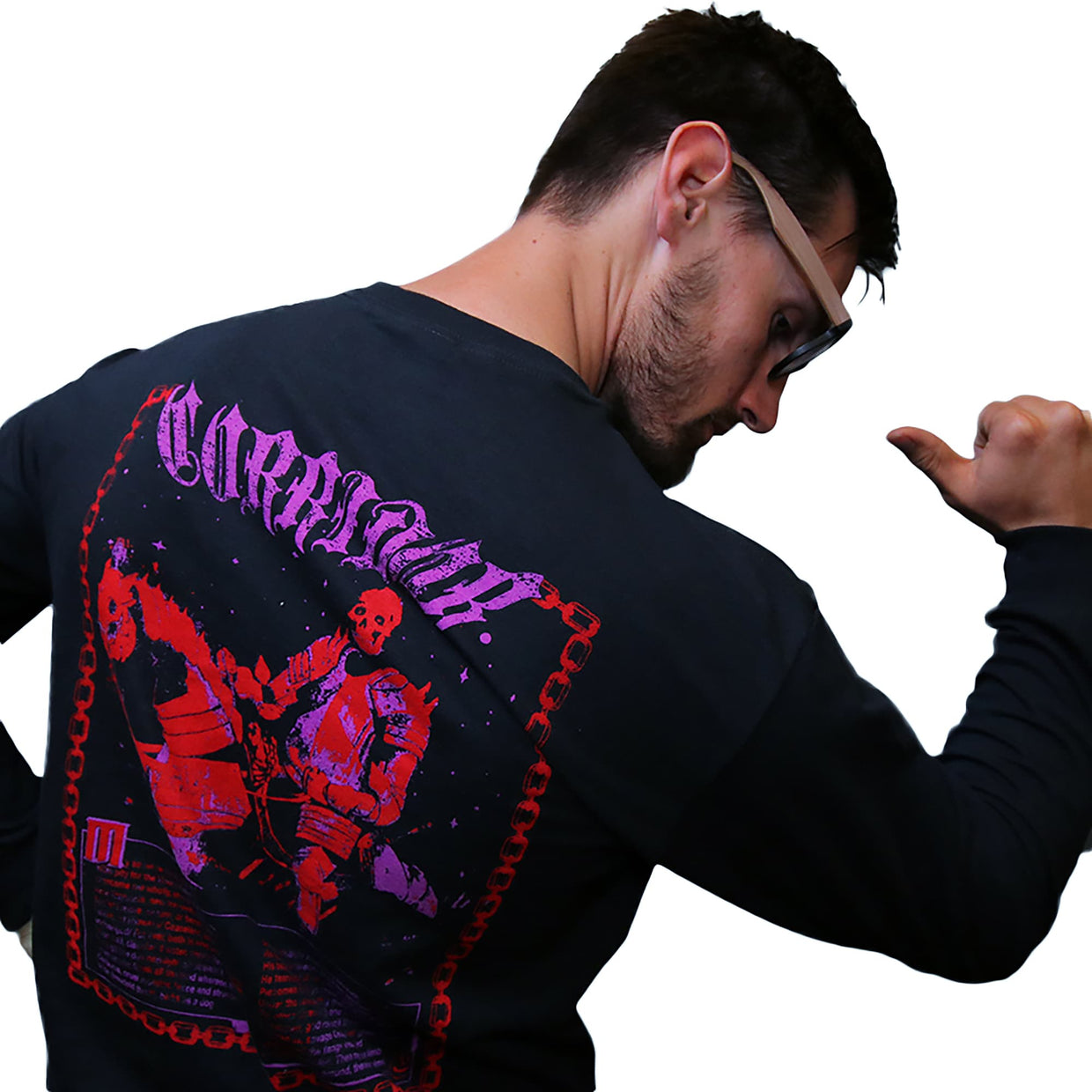 'Metal and Magic' Long Sleeve T-Shirt